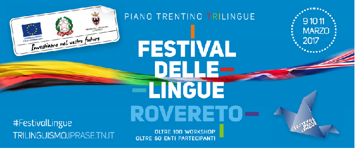 logo festival delle lingue 2017